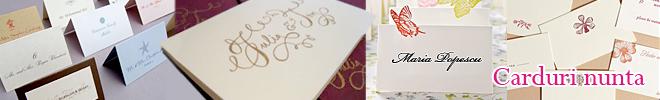 Carduri de masa nunta, numere de asezare la masa