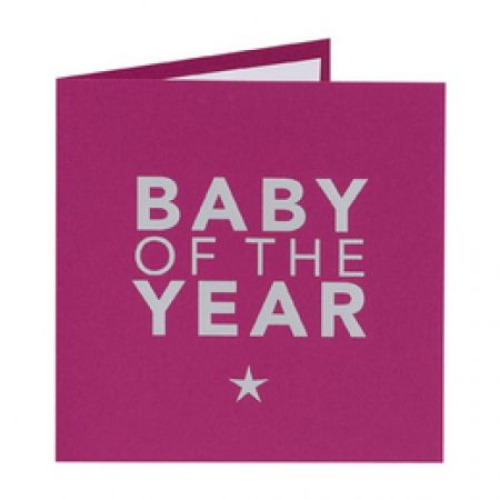 Invitatie botez fetita Baby Of The Year - poza 1
