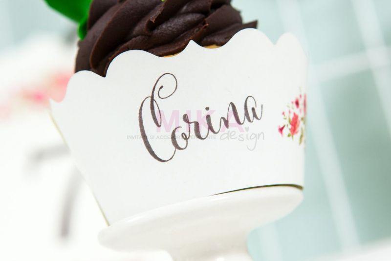 Ambalaj cupcake shabby schic - poza 3