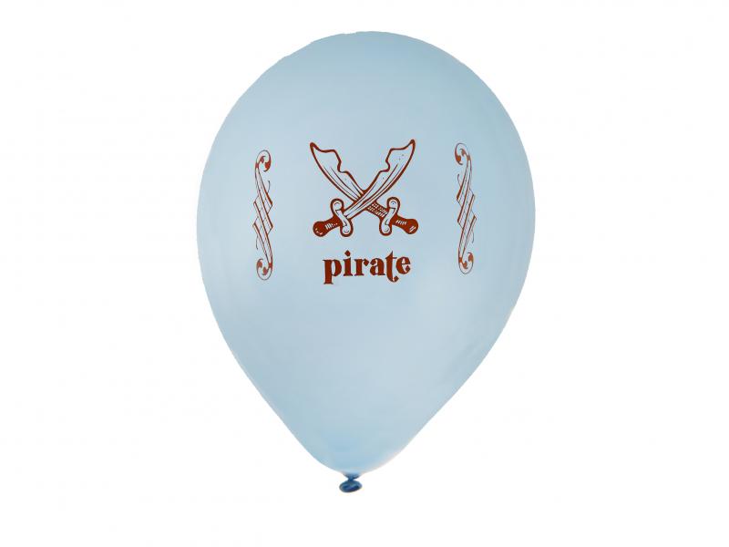 Baloane bleu Pirate Party