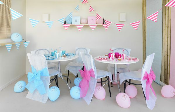Banner decorativ Pink Party - poza 2