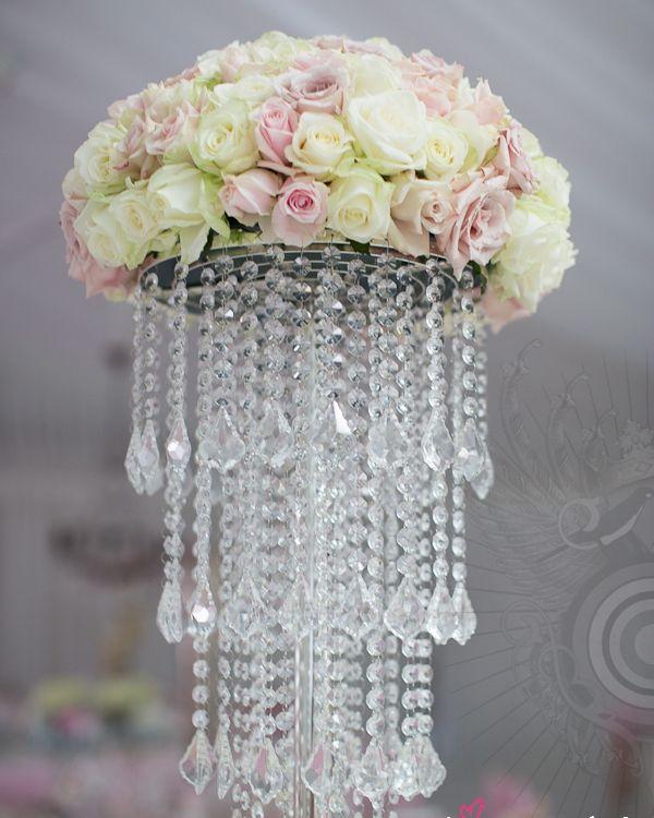 Candelabru Cristal - inaltime 60  cm