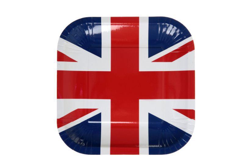 Farfurii London Party, set 10 bucati
