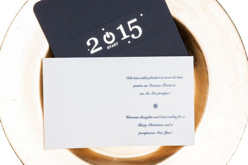 Felicitare Craciun business 2015 - poza 2
