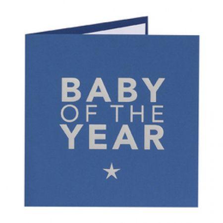 Invitatie botez baiat BABY OF THE YEAR - poza 1
