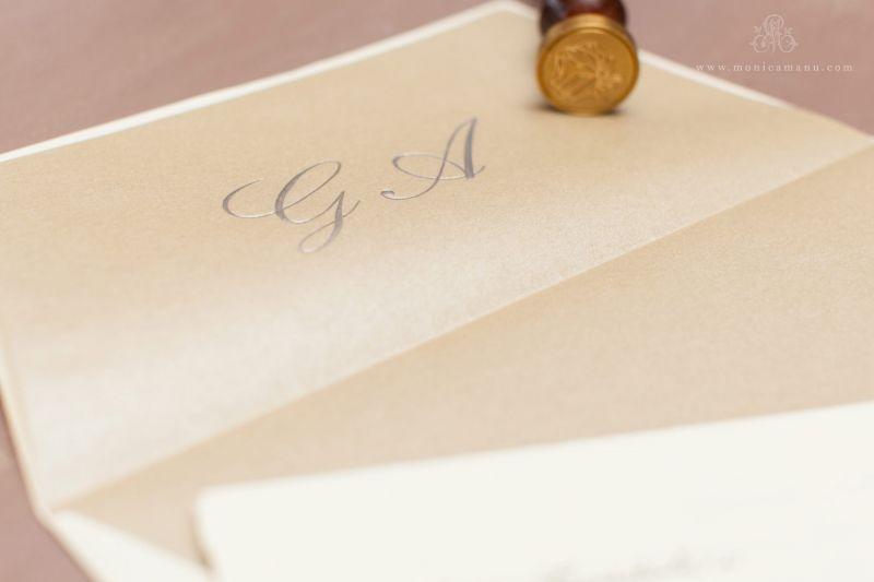 Invitatie nunta classy - poza 3