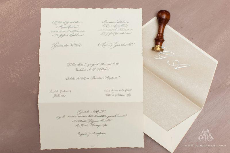 Invitatie nunta classy - poza 1