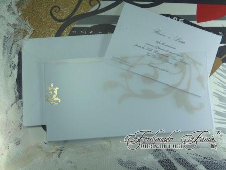 Invitatie nunta cu coperta transparenta - poza 1