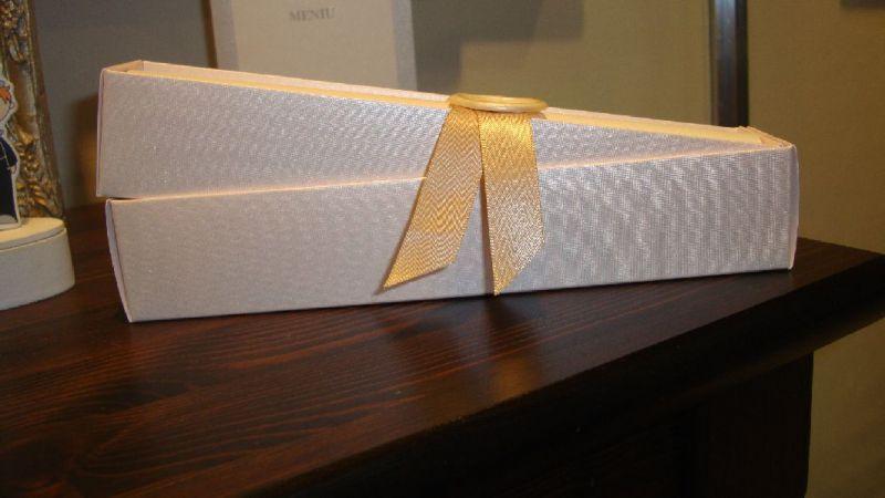 Invitatie nunta model scroll - poza 4
