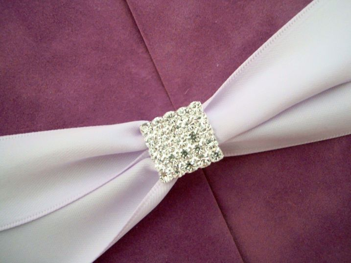 Catifea lila, invitatii nunta de lux - poza 5
