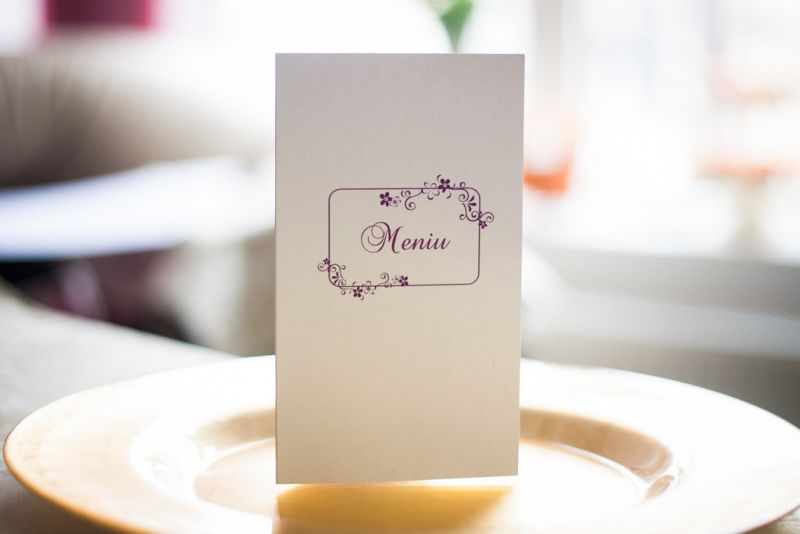 Meniu nunta cu flori mov - poza 1