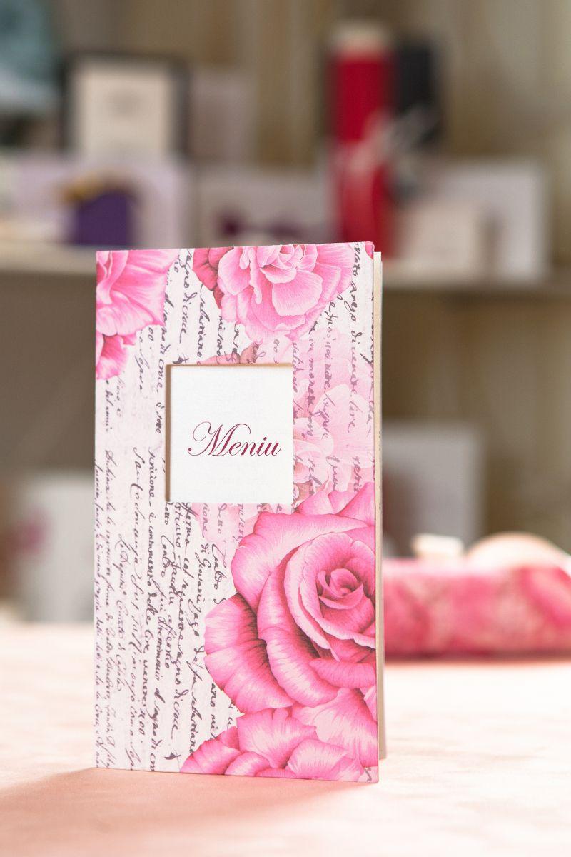 Meniu nunta cu trandafiri - poza 1