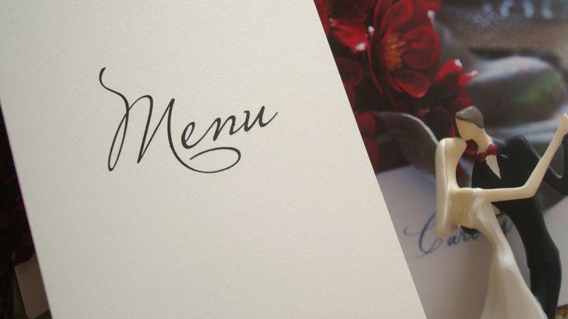 Meniu nunta elegant - poza 2