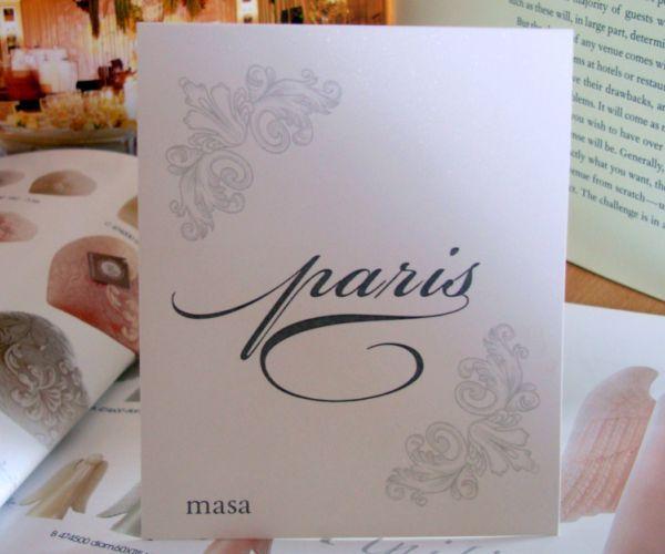 Numar de masa nunta sau botez, design regal - poza 1