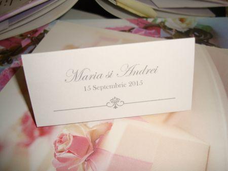 Carduri masa nunta elegant - poza 1