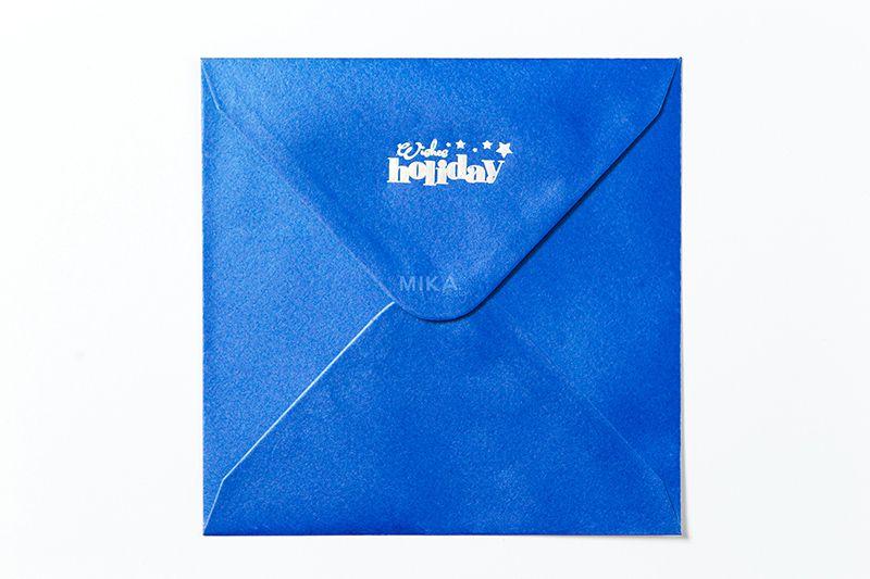 Plic albastru sidefat personalizat - poza 5