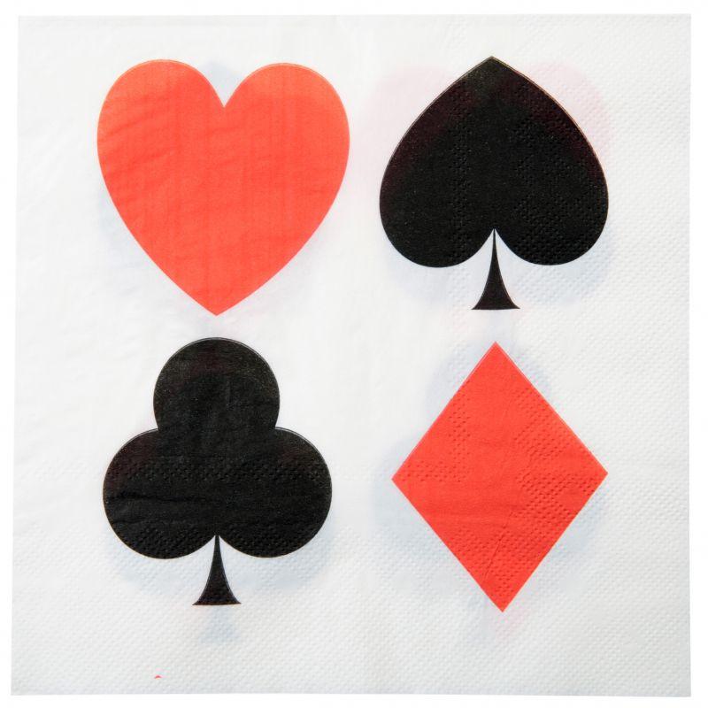 Servetele Poker Party - poza 3