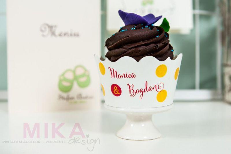 Ambalaj cupcakes multicolor - poza 1