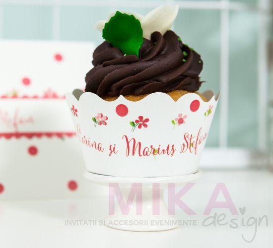 Anbalaj cupcake cu buline  vesele - poza 1