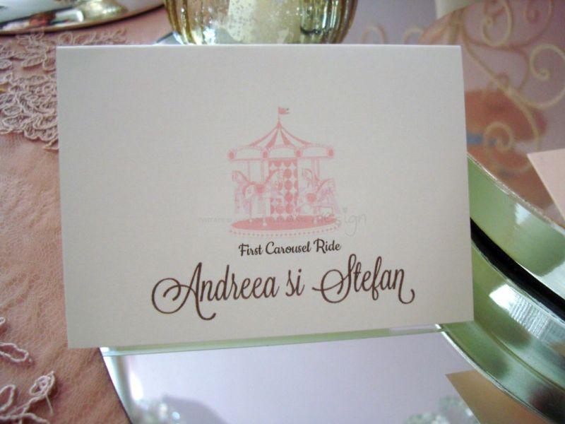 Card nume invitat Carusel - poza 1
