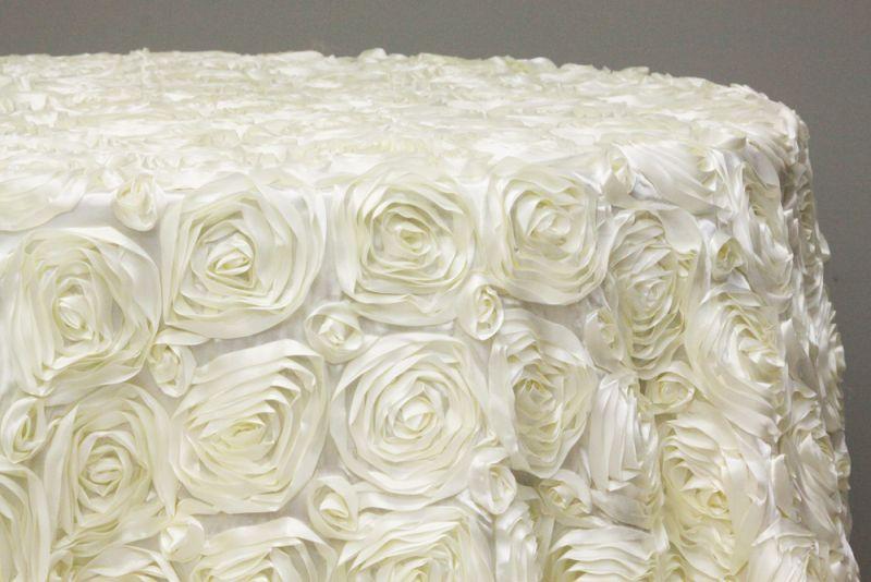 Fata masa trandafiri ivory - poza 2