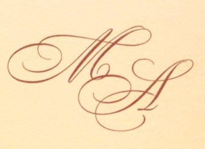Initiale miri in cerneala, serigrafie - poza 1