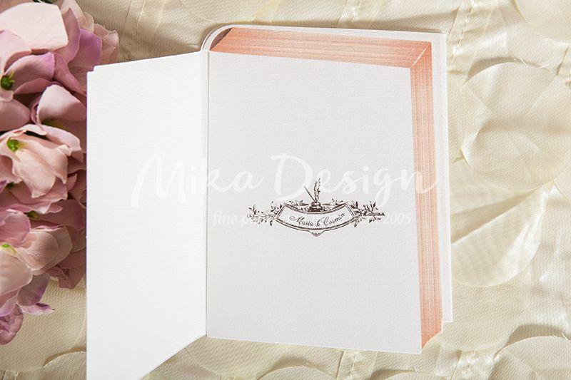 Invitatie nunta in forma de carte - poza 4