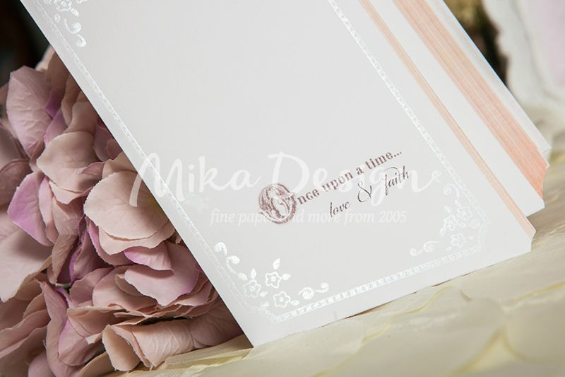 Invitatie nunta in forma de carte - poza 3