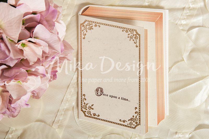 Invitatie nunta vintage model cartica 3D - poza 1