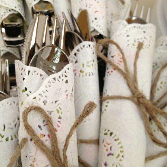 Mini suport dantelat alb, 10 bucati - poza 1
