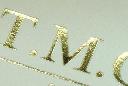 Personalizare cu logo folio auriu - poza 1