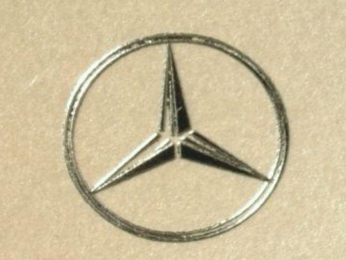 Personalizare logo argintiu relief pe felicitare sau plicul acesteia - poza 1