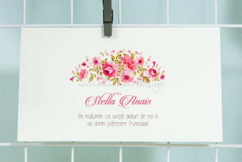 Plic bani cu design floral - poza 2