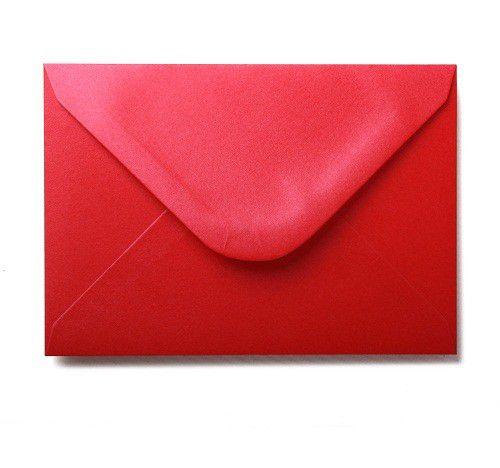 Plic sidefat patrat Xmas Red - poza 1
