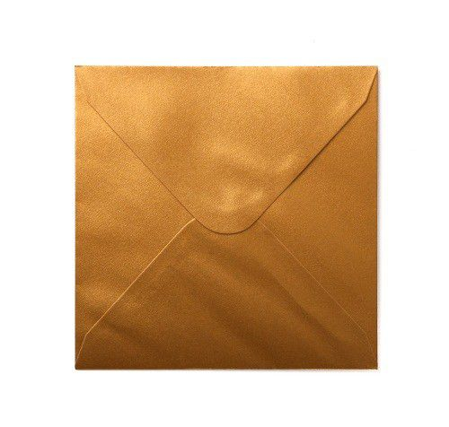 Plic sidefat patrat  auriu - poza 1