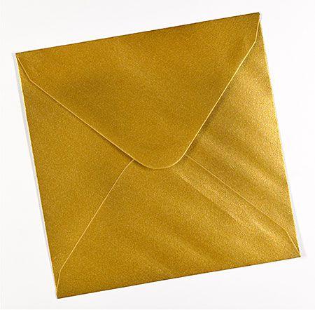 Plic sidefat patrat  auriu - poza 3