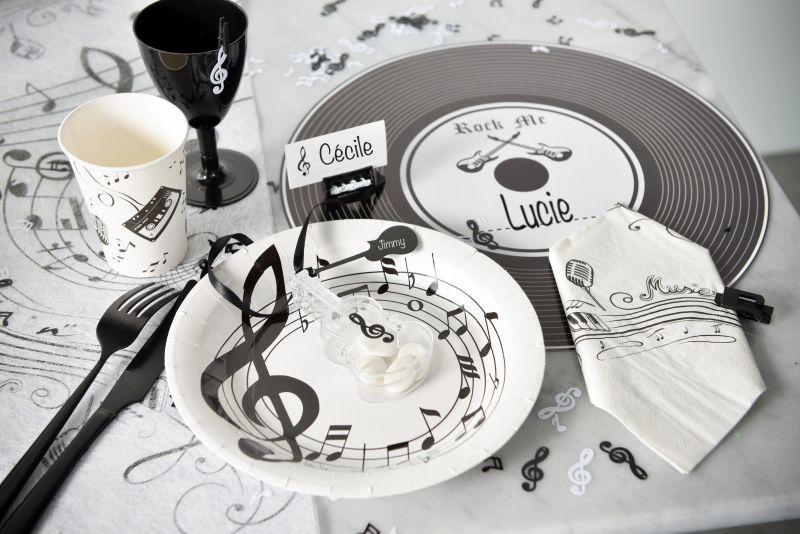 Servetele note muzicale - poza 2