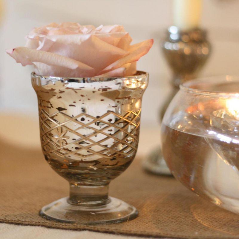 suport lumanari sau flori mercury