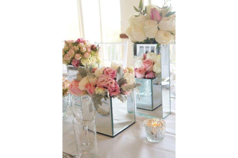 vase oglinda pentru aranjamente florale