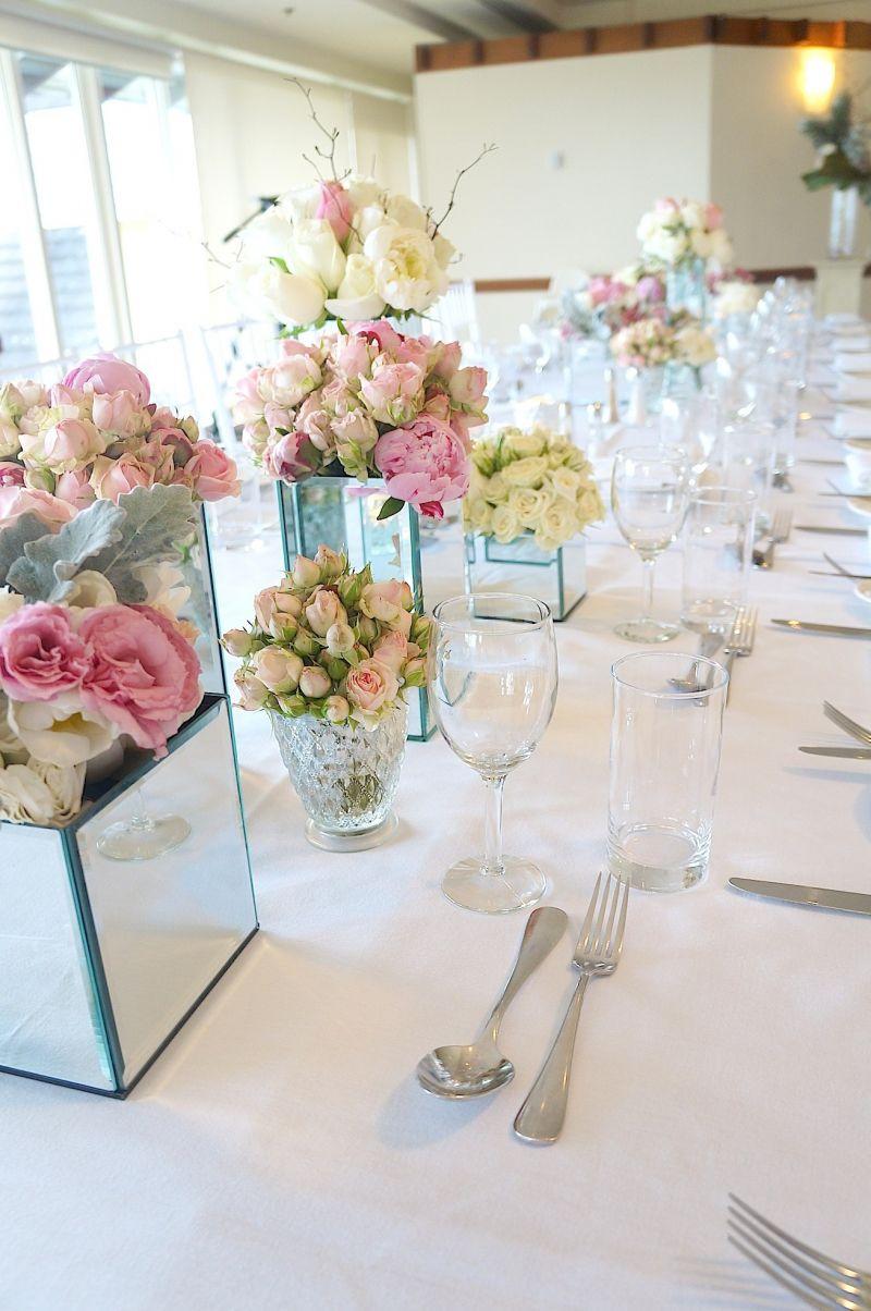 Vase oglinda pentru aranjamente florale - poza 3